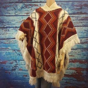 Sweaters - Crochet Blanket Shawl